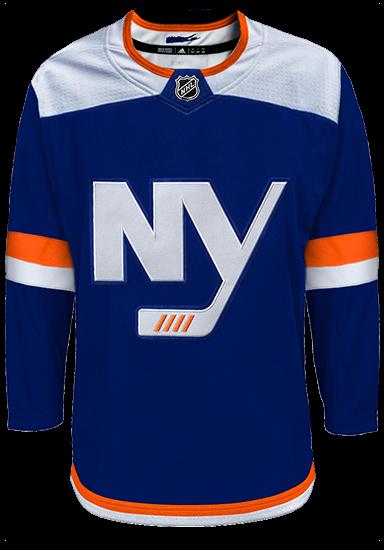 New York Islanders Adidas Authentic Third Alternate NHL Hockey Jersey
