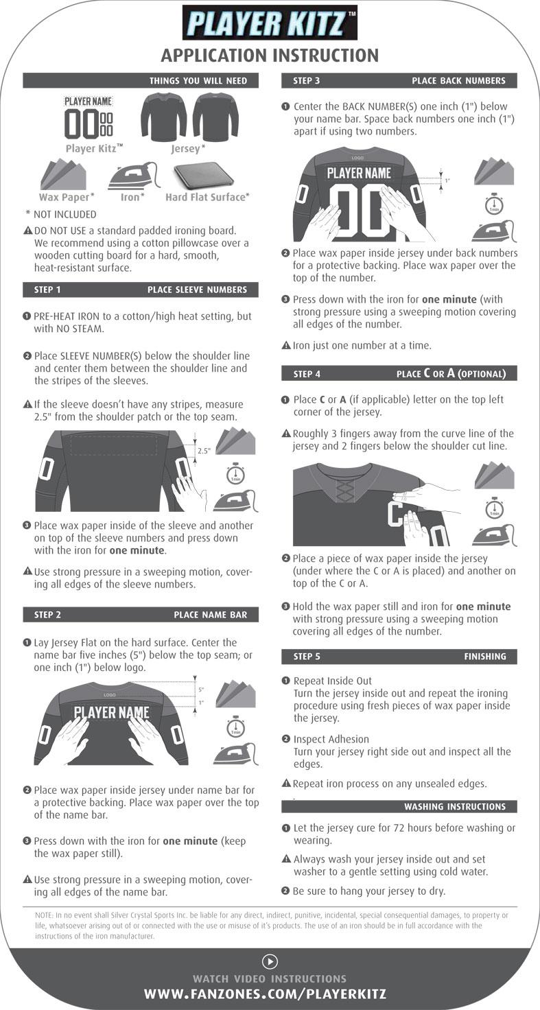 Fanzones Player Kitz Instructions